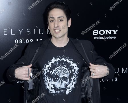 Stock Photo of Us Actor Omar Doom Arrives For the World Premiere of 'Elysium' in Los Angeles California Usa 07 August 2013 United States Los Angeles