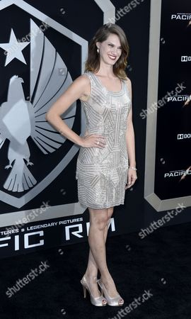 Canadian Actress and Cast Member Heather Doerksen Arrives For the Los Angeles Premiere of 'Pacific Rim' at Dolby Theatre in Hollywood California Usa 09 July 2013 United States Hollywood