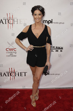 Us Actor and Cast Member Rileah Vanderbilt Arrives For the Premiere of 'Hatchet Iii' in Los Angeles California Usa 11 June 2013 the Film Concludes the Saga of Adam Green?s Hit 2006 Thriller and Follows Marybeth As She Attempts to Destroy a Hulking Seemingly-invincible Sociopath Rampaging Through a Sleepy Louisiana Swamp United States Los Angeles
