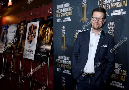 Finnish Director Klaus Haro Arrives For a Symposium at the Egyptian Theatre in Hollywood California Usa 09 January 2016 Haro's Film 'The Fencer' is a Golden Globe Award Nominee For Best Foreign Language Film United States Hollywood