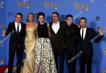 Editorial picture of Usa Golden Globes 2014 - Jan 2014