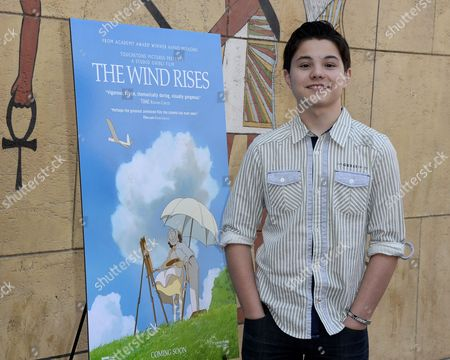 Us Actor Zach Callison Cast Member of the Film 'The Wind Rises' Arrives For the Golden Globe Awards Foreign Language Film Symposium at the Egyptian Theatre in Hollywood California Usa 11 January 2014 the Directors of Four of the Five Nominated Films For the Golden Globe Awards in the Best Foreign-language Film Category Gathered For the Symposium United States Hollywood