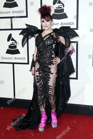 Jacqueline Van Bierk Arrives For the 58th Annual Grammy Awards Held at the Staples Center in Los Angeles California Usa 15 February 2016 United States Los Angeles