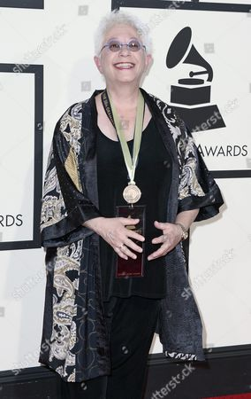 Us Singer/song-writer Janis Ian Arrives For the 58th Annual Grammy Awards Held at the Staples Center in Los Angeles California Usa 15 February 2016 United States Los Angeles