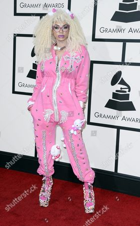Dencia Arrives For the 58th Annual Grammy Awards Held at the Staples Center in Los Angeles California Usa 15 February 2016 United States Los Angeles