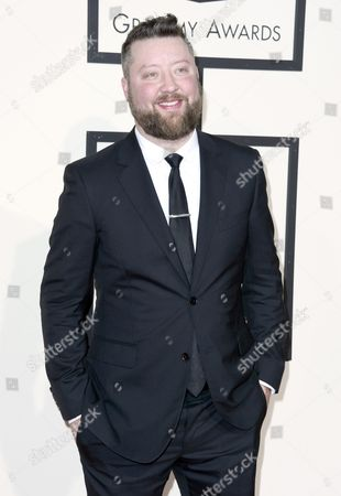 Stock Image of Us Songwriter Cary Barlowe Arrives For the 58th Annual Grammy Awards Held at the Staples Center in Los Angeles California Usa 15 February 2016 United States Los Angeles
