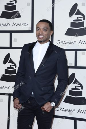 Us Gospel Singer Jonathan Mcreynolds Arrives For the 58th Annual Grammy Awards Ceremony at the Staples Center in Los Angeles California Usa 15 February 2016 United States Los Angeles
