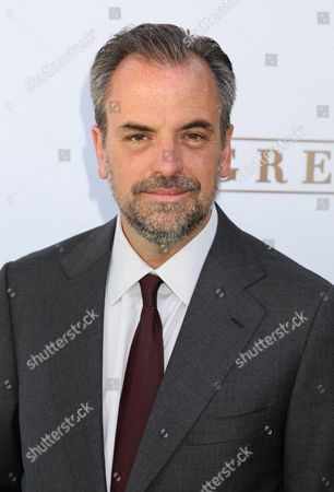 Stock Image of Us Television Series Producer Craig Wright Arrives For the Premiere of Own: Oprah Winfrey Network's Series 'Greenleaf' at the Lot West Hollywood California Usa 15 June 2016 United States West Hollywood