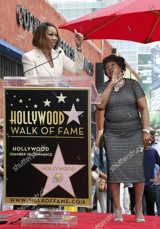 Editorial picture of Usa Hollywood Walk of Fame - Jun 2016