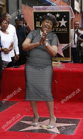 Editorial image of Usa Hollywood Walk of Fame - Jun 2016