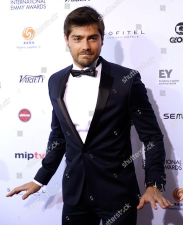Portuguese Actor Lourenco Ortigao Arrives For the 43rd International Emmy Awards Gala in New York New York Usa 23 November 2015 United States New York