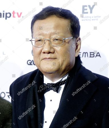 Liu Changle Chairman and Ceo of Phoenix Satellite Television Arrives For the 43rd International Emmy Awards Gala in New York New York Usa 23 November 2015 United States New York