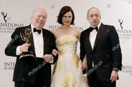 Editorial picture of Usa International Emmy Awards - Nov 2015