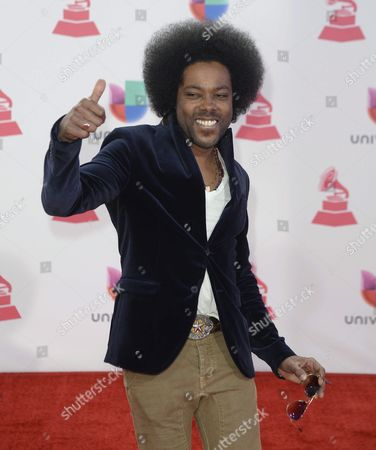 Alex Cuba Arrives at 16th Annual Latin Grammy Awards at the Mgm Grand in Las Vegas Nevada Usa 19 November 2015 Latin Grammy Awards Reconginze Artistic And/or Technical Achievement not Sales Figures Or Chart Postitions and the Winners Are Determined by the Votes of Their Peers-the Qualified Voting Members of the Academy United States Las Vegas