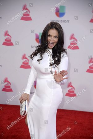Julie Ferretti Arrives at the 16th Annual Latin Grammy Awards at the Mgm Grand in Las Vegas Nevada Usa 19 November 2015 Latin Grammy Awards Recognize Artistic And/or Technical Achievement not Sales Figures Or Chart Positions and the Winners Are Determined by the Votes of Their Peers-the Qualified Voting Members of the Academy United States Las Vegas