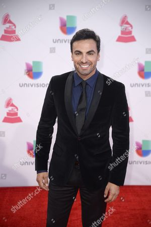 Stock Picture of Gabriel Valenzuela Arrives at the 16th Annual Latin Grammy Awards at the Mgm Grand in Las Vegas Nevada Usa 19 November 2015 Latin Grammy Awards Recognize Artistic And/or Technical Achievement not Sales Figures Or Chart Positions and the Winners Are Determined by the Votes of Their Peers-the Qualified Voting Members of the Academy United States Las Vegas