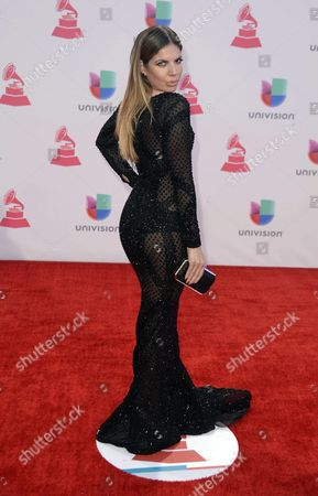 Fernanda Kelly Lanzate Arrives at the 16th Annual Latin Grammy Awards at the Mgm Grand in Las Vegas Nevada Usa 19 November 2015 Latin Grammy Awards Recognize Artistic And/or Technical Achievement not Sales Figures Or Chart Positions and the Winners Are Determined by the Votes of Their Peers-the Qualified Voting Members of the Academy United States Las Vegas