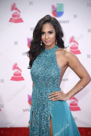 Stock Photo of Thatiana Diaz Arrives at the 16th Annual Latin Grammy Awards at the Mgm Grand in Las Vegas Nevada Usa 19 November 2015 Latin Grammy Awards Recognize Artistic And/or Technical Achievement not Sales Figures Or Chart Positions and the Winners Are Determined by the Votes of Their Peers-the Qualified Voting Members of the Academy United States Las Vegas