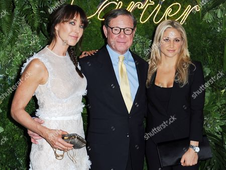 Michael Ovitz (c) Former Principal of the Artists Management Group His Daughter Kim Ovitz (r) and British Designer Tamara Mellon (l) Arrive at the Museum of Modern Art's Party in the Garden in New York New York Usa 21 May 2013 the Museum of Modern Art's Party in the Garden is a Benefit Event in Honor of Mayor Michael R Bloomberg and the City of New York and Us Artists Ellsworth Kelly and Cindy Sherman in Recognition of Their Support of Moma United States New York