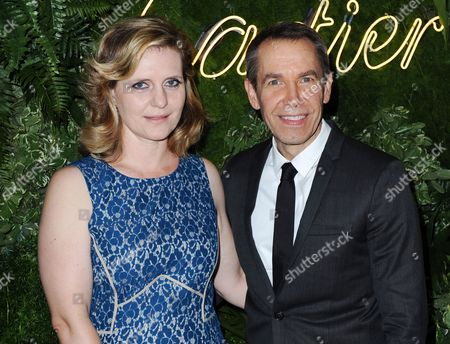 Us Artist Jeff Koons and His Wife Justine Koons Arrive at the Museum of Modern Art's Party in the Garden in New York New York Usa 21 May 2013 the Museum of Modern Art's Party in the Garden is a Benefit Event in Honor of Mayor Michael R Bloomberg and the City of New York and Us Artists Ellsworth Kelly and Cindy Sherman in Recognition of Their Support of Moma United States New York