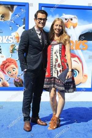 Us Actor and Cast Member Ty Burrell Arrives with His Wife Holly Anne Brown For the World Premiere of Storks at the Regency Village Theater in Westwood Los Angeles California Usa 17 September 2016 the Movie Opens in the Us on 23 September 2016 United States Los Angeles