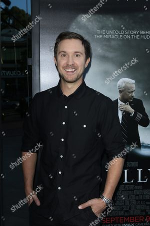 Us Actor and Cast Member Sam Huntington Arrives For the Los Angeles Industry Screening of 'Sully' at the Tcl Chinese Theatre Imax in Hollywood Los Angeles California Usa 08 September 2016 the Movie Opens in the Usa on 09 September 2016 United States Los Angeles