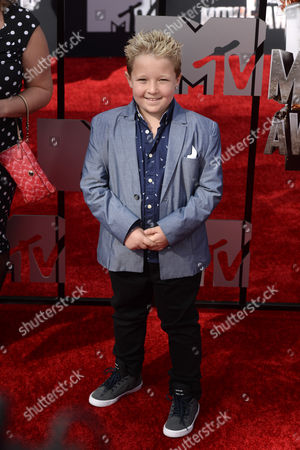 Us Actor Jackson Nicoll Arrives For the 2014 Mtv Movie Awards at the Nokia Theatre in Los Angeles California Usa 13 April 2014 the Movies Are Nominated by Producers and Executives From Mtv and the Winners Are Chosen On-line by the General Public United States Los Angeles