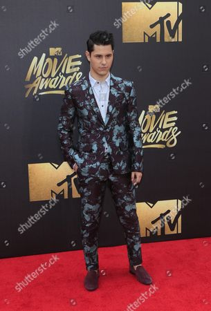 Michael J Willett Arrives For the 2016 Mtv Movie Awards at the Warner Brothers Studios in Burbank California Usa 09 April 2016 the Movies Are Nominated by Producers and Executives From Mtv and the Winners Are Chosen Online by the General Public United States Burbank