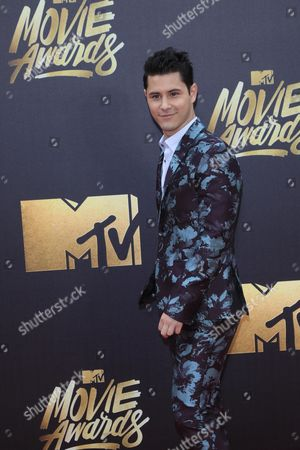 Stock Image of Michael J Willett Arrives For the 2016 Mtv Movie Awards at the Warner Brothers Studios in Burbank California Usa 09 April 2016 the Movies Are Nominated by Producers and Executives From Mtv and the Winners Are Chosen Online by the General Public United States Burbank