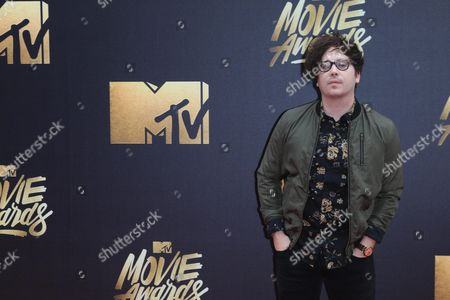 Marty Shannon Arrives For the 2016 Mtv Movie Awards at the Warner Brothers Studios in Burbank California Usa 09 April 2016 the Movies Are Nominated by Producers and Executives From Mtv and the Winners Are Chosen Online by the General Public United States Burbank