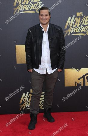 H Scott Salinas Arrives For the 2016 Mtv Movie Awards at the Warner Brothers Studios in Burbank California Usa 09 April 2016 the Movies Are Nominated by Producers and Executives From Mtv and the Winners Are Chosen Online by the General Public United States Burbank
