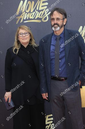 Cathleen Summers (l) and Patrick Crowley Arrive For the 2016 Mtv Movie Awards at the Warner Brothers Studios in Burbank California Usa 09 April 2016 the Movies Are Nominated by Producers and Executives From Mtv and the Winners Are Chosen Online by the General Public United States Burbank