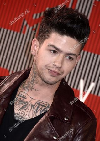 Travis Mills Aka T Mills Arrives on the Red Carpet For the 32nd Mtv Video Music Awards at the Microsoft Theater in Los Angeles California Usa 30 August 2015 United States Los Angeles