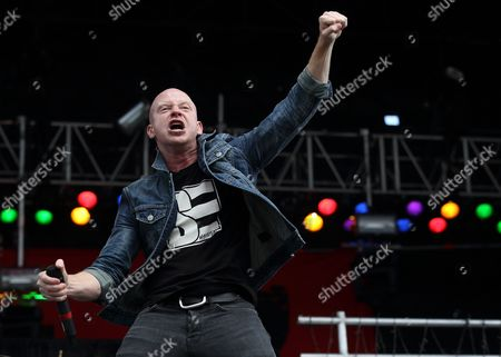 Michael Barnes of the Us Band Red Performs at the Rock on the Range Festival in Columbus Ohio Usa 19 May 2013 the Festival Runs From 17 to 19 May United States Columbus