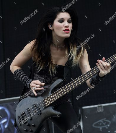 Emma Anzai of the Australian Band the Sick Puppies Performs at the Rock on the Range Festival in Columbus Ohio Usa 19 May 2013 the Festival Runs From 17 to 19 May United States Columbus