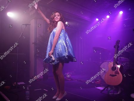 Us Pop Singer Megan Nicole Performs at the Deluxe at the Murat Center in Indianapolis Indiana Usa 21 May 2016 United States Indianapolis