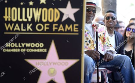 Dennis 'Dt' Thomas (l) From the Us Musical Group Kool and the Gang Attends a Ceremony Honoring Them with a Star on the Hollywood Walk of Fame in Hollywood California Usa 08 October 2015 Kool & the Gang with Such Hits As 'Celebration' and 'Get Down on It' Received the 2 560th Recording Artist Star on the Famous Boulevard United States Hollywood