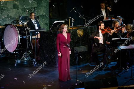 Soprano Andrea Rost (c) Performs Along the Hungary State Opera During the United Nations Day Concert in the United Nations Headquarters in New York New York Usa 24 October 2016 United States New York