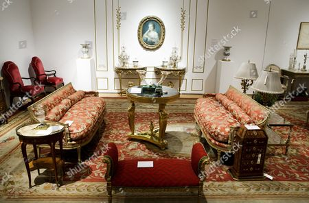 A View of Furniture Owned by the Late Joan Rivers on Display During a Preview of an Auction of the Actress' Personal Items at Christie's in New York New York Usa 17 June 2016 the Auction Which Includes Furniture Clothing Art and Jewelry From Rivers' New York Apartment is Being Held Online Until 23 June 2016 with a Live Portion Taking Place on 22 June 2016 United States New York