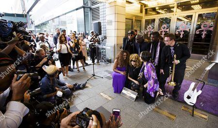 Editorial picture of Usa New York Prince Apollo Walk of Fame - Jun 2016