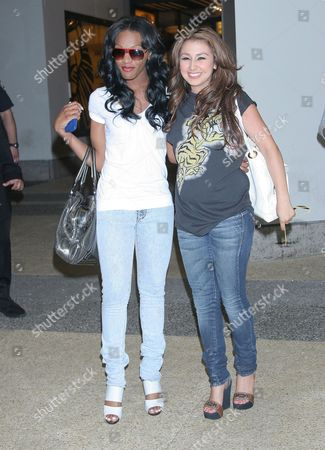 Stock Image of Dawn Richard and Aundrea Fimbres