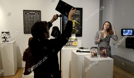 Editorial photo of Usa New York Sotheby's Star Wars Auction - Dec 2015