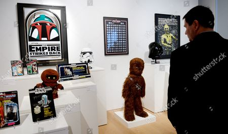 Editorial picture of Usa New York Sotheby's Star Wars Auction - Dec 2015