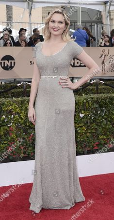 Us Actress Sunny Mabrey Arrives For the 22nd Annual Screen Actors Guild Awards Ceremony at the Shrine Auditorium in Los Angeles California Usa 30 January 2016 United States Los Angeles