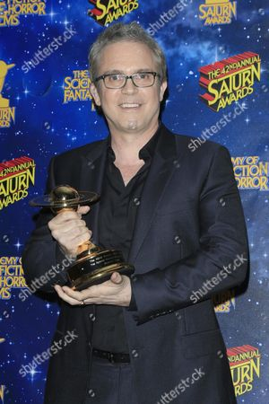 Us Writer/producer Brannon Braga Poses with His Award For Photos at the 42nd Annual Saturn Awards Held at the Castaway in Burbank California Usa 22 June 2016 the Saturn Awards Honors the Best in Science Fiction Fantasy Horror and Other Genres in Film Television Home Media Releases and Theatre United States Burbank