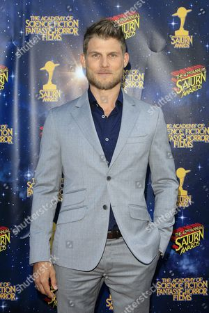 Us Actor Travis Van Winkle Poses For Photos at the 42nd Annual Saturn Awards Held at the Castaway in Burbank California Usa 22 June 2016 the Saturn Awards Honors the Best in Science Fiction Fantasy Horror and Other Genres in Film Television Home Media Releases and Theatre United States Burbank