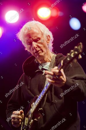 American Musician Robby Krieger of the Doors Band Performs on the Butler Park Outdoor Stage As Part of a Jimi Hendrix Musical Tribute to Celebrate the Release of the Us Postal Service's Jimi Hendrix Limited-edition Postal Stamp During the Music Portion of South by Southwest in Austin Texas Usa 13 March 2014 South by Southwest (sxsw) Conferences and Festivals Offer the Unique Convergence of Original Music Independent Films and Emerging Technologies United States Austin