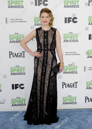 French Actress and Writer Hande Kodja Arrives For the 29th Annual Film Independent Spirit Awards Ceremony in Santa Monica California Usa 01 March 2014 United States Santa Monica
