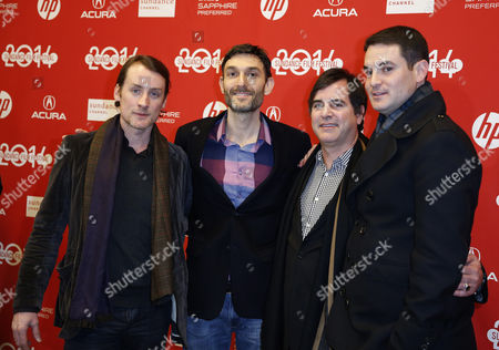 (l-r) Us Executive Producers Kwesi Collisson Mike Feuer Tome Fore and Jason Michael Berman Arrives For the Premiere of the 'Little Accidents' During the 2014 Sundance Film Festival in Park City Utah Usa 22 January 2014 the Festival Runs From 16 to 26 January United States Park City