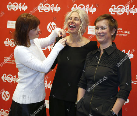 Us Producers Summer Shelton (l) Amy Nouiokas (c) and Anne Careyarrives (r) For the Premiere of the 'Little Accidents' During the 2014 Sundance Film Festival in Park City Utah Usa 22 January 2014 the Festival Runs From 16 to 26 January United States Park City